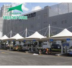 苏州吴中区供电公司膜结构充电桩