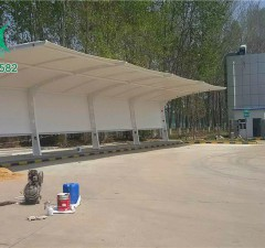 胶州南服务区充电桩车棚