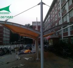 临汾中学自行车棚