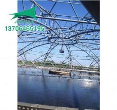 污水池膜结构框架施工