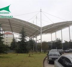 新疆山水家园小区入口膜结构