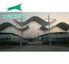安徽临泉出入口膜结构