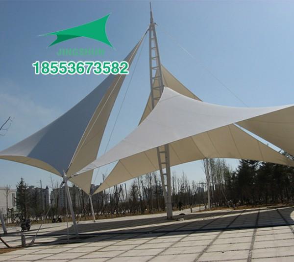 北京大兴区公园景观膜结构
