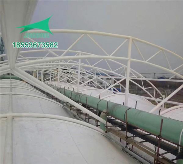 枣庄华润造纸厂污水池加盖